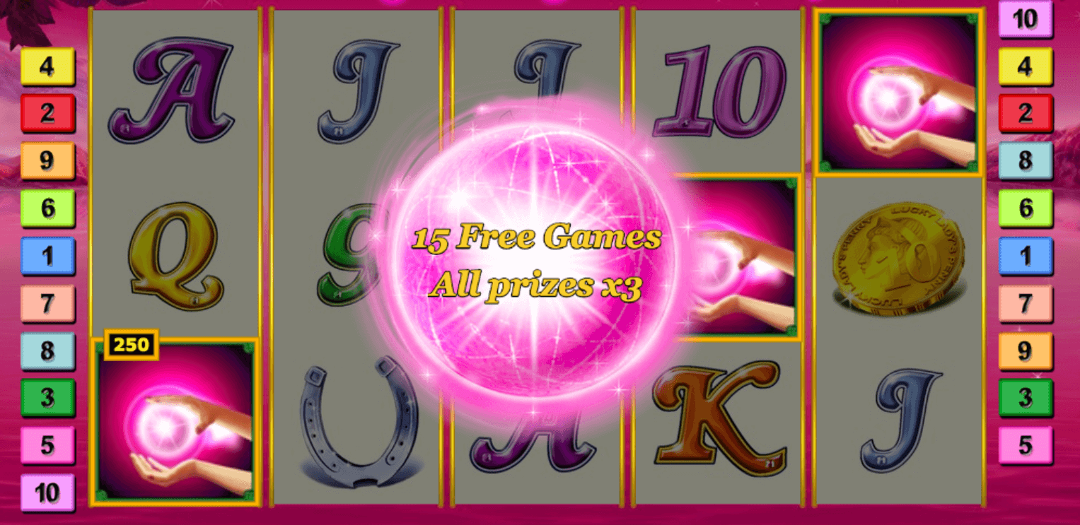 Lucky Lady's Charm Deluxe | Play now for FREE | GAMINATOR Casino